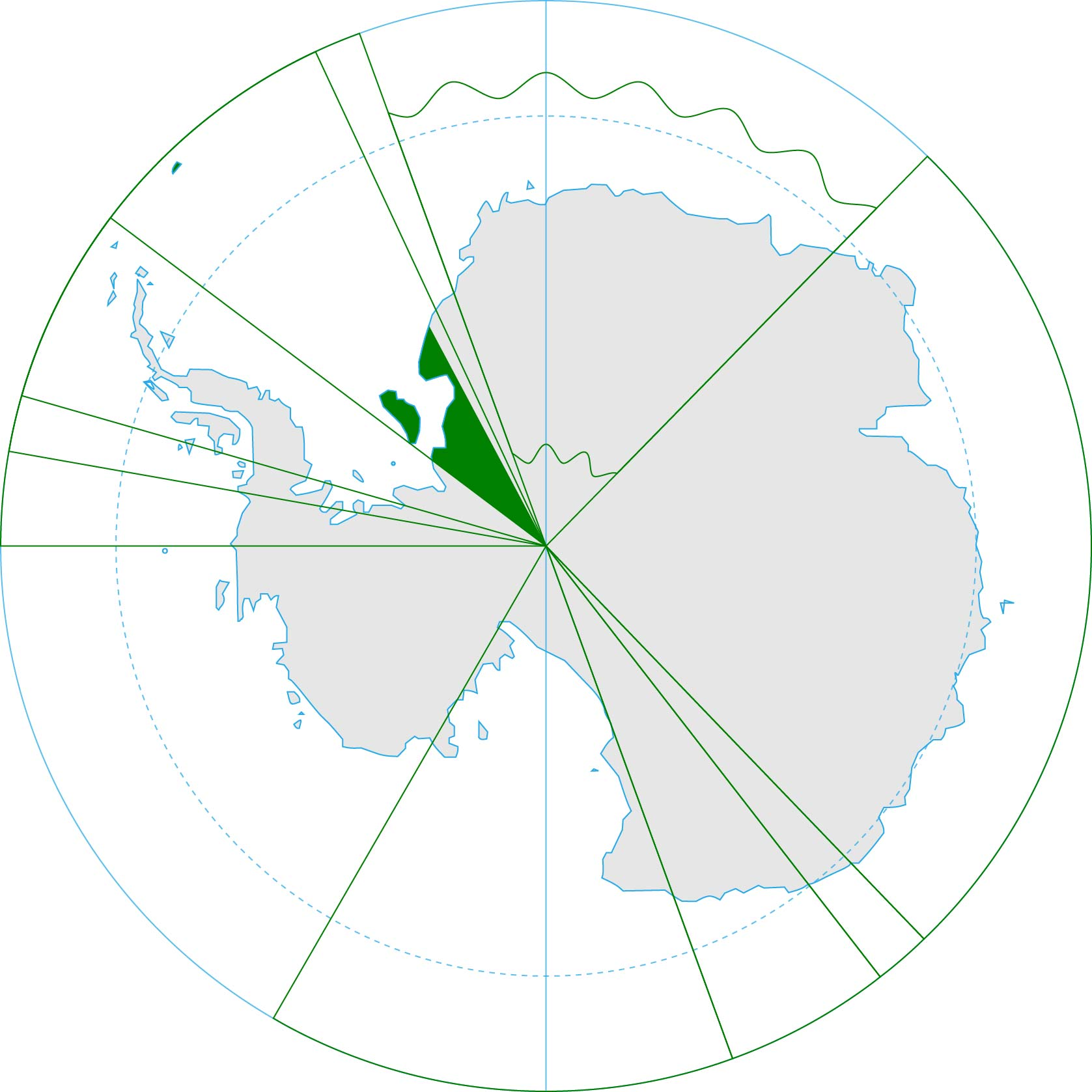 Antarctica, Brazil territorial claim (green).jpg